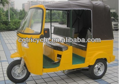 bajaj three wheel motorcycle passenger tricycle