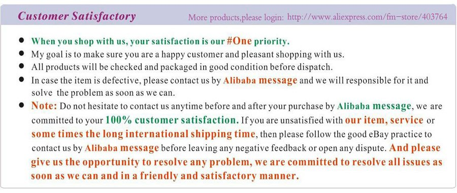 4,Customer satisfactory
