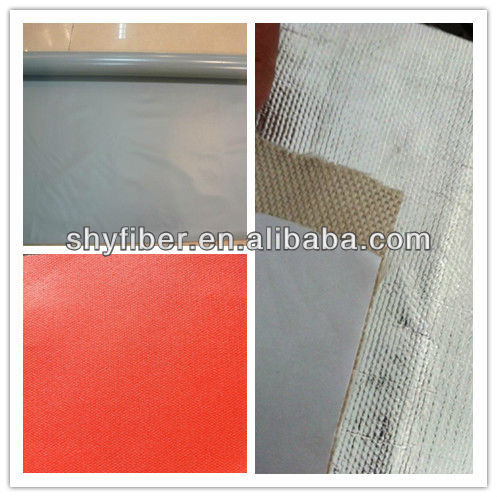 880g Aluminum foil Coated Fiberglass Fabric
