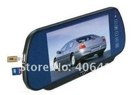7 inch rearview car monitor with MP5  hot sale free shipping