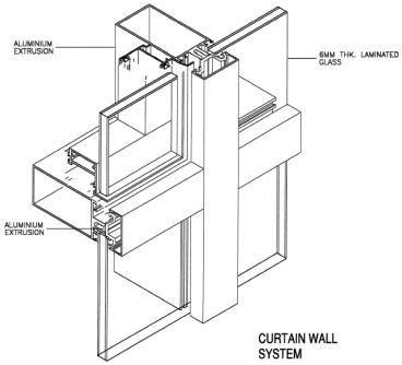 New Design Rameless Glass Curtain Wall Buy Frameless Glass Curtain Wall Frameless Glass