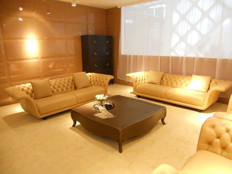 style amricain salon chesterfield canap en cuir jeu - Salon Americain