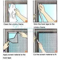 Оконные и дверные противомоскитные сетки Lovelisawang 200 x 150 DIY Flyscreen Fly LH0560