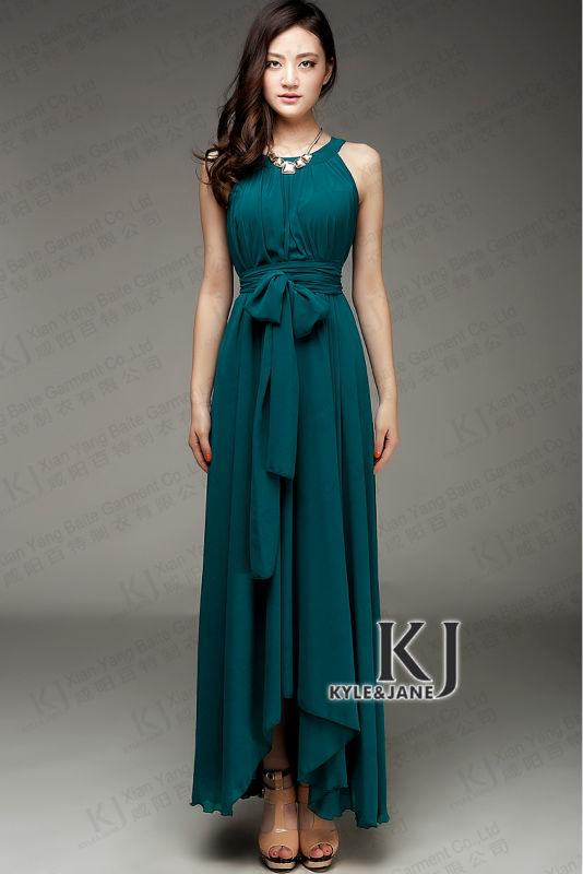 Latest Designs Long Sleeve Maxi Dress Muslim D22