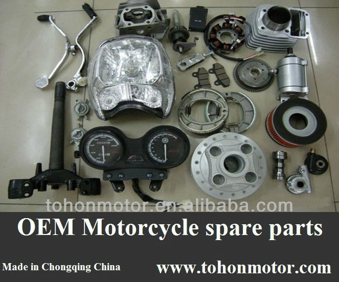 Motorcycle Plastic Body Parts Engine Parts CKD SKD, for Motomel ZTT200 Series, High Performance Parts