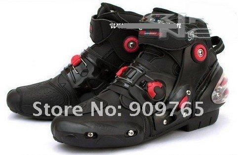 New Popular Man Armor Boots Boot Guard Motorcycle Helmet Bike Back Pro