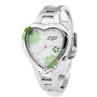 Наручные часы KIMIO Brand Watch women ladies Korea Fashion Stainless Steel Flower Heart Deign WristWatch, 6 Colors Availale #K440