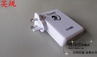 tmashi бренда 1 pc для Великобритании вилка 4a 6 порт usb зарядное устройство для iphone4/4s для ipad, для мобильных телефонов usb
