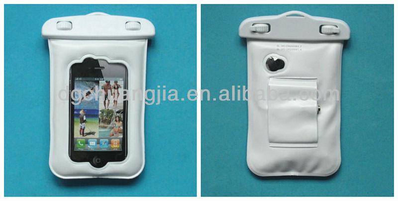 Wholesale custom waterproof phone bags for iphone 4