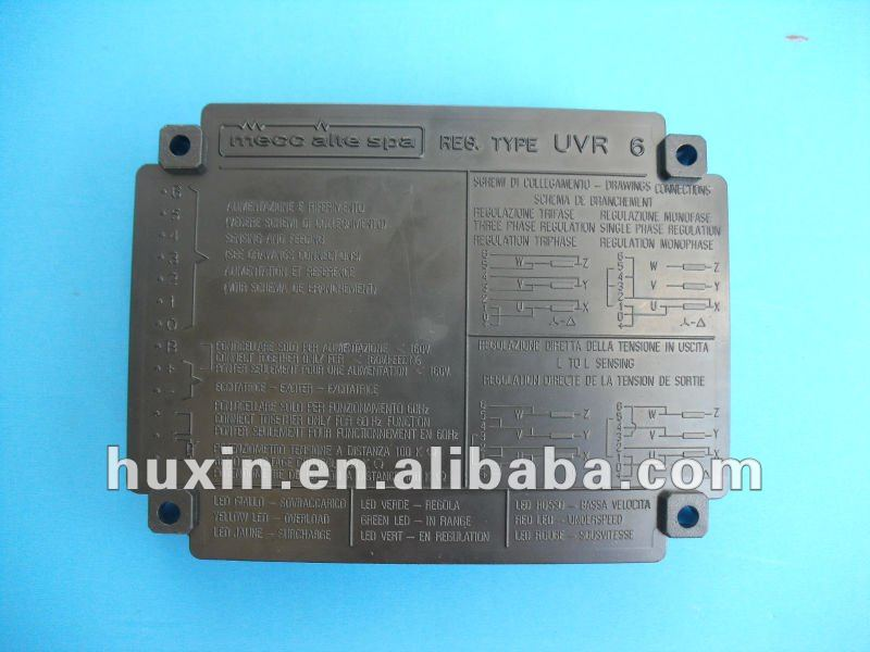 Mecc Alte UVR6 AVR Automatic Voltage Regulator UVR 8172 TC