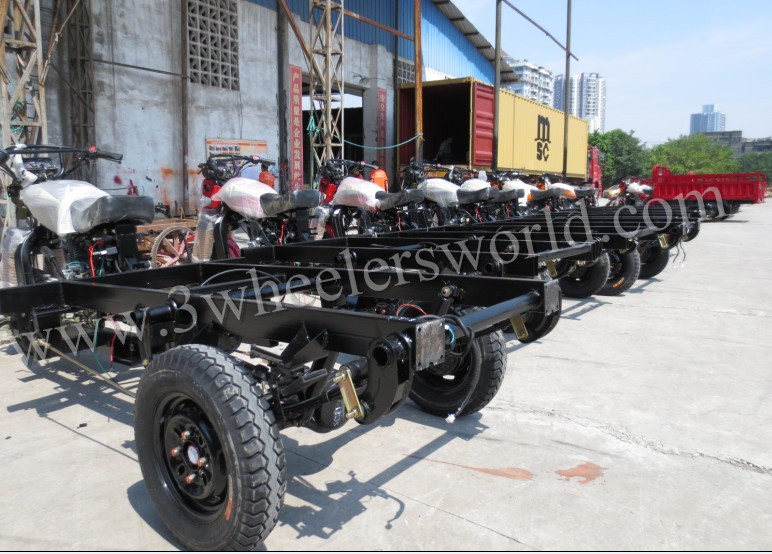 China Best Cheap 400cc Trike Chooper Motorcycle Cargo Trailer for Sale