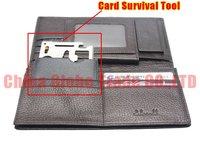 Набор для путешествий 5pcs/lot Function Multipurpose Pocket Survival Tool