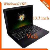 Free shipping 13.3 inch laptop L70 D425  WIN7/XP 1G 160GB with Wifi Webcames