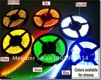 Светодиодная лента 5m SMD 3528 Waterproof Flexible 600 LED Strip Light Lamp 120Leds/Meter DC 12V Waterproof IP65 Warm white
