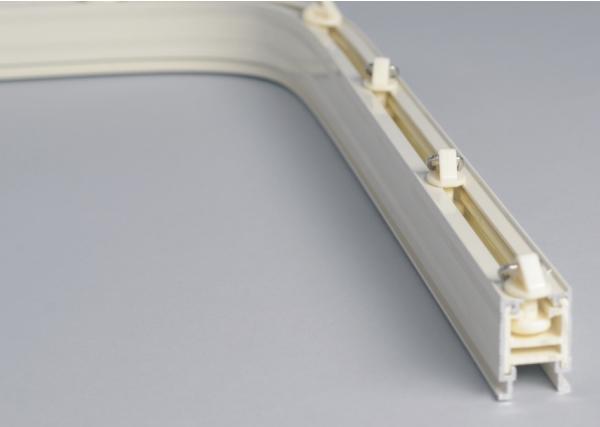 aluminium curtain track curved