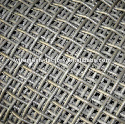 Heavy gauge wire mesh panels