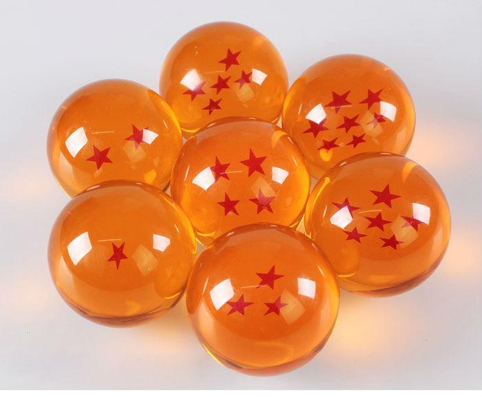 dbz 7 dragon balls from dragon