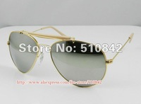 Женские солнцезащитные очки Brand New Fashion sunglasses, Men's/Women's sunglasses, designer Sunglasses Gold frame Mirror Lens model30229