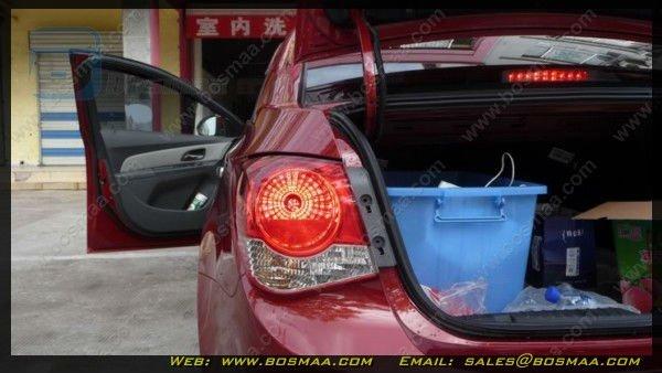 Dual color 7443 60 smd 3528 LED Car Signal Light