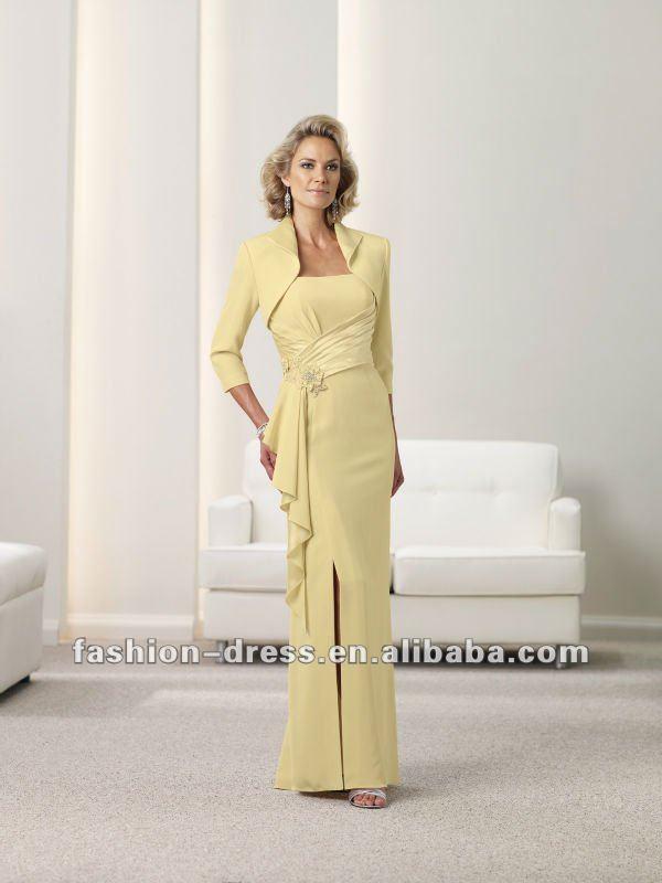 Robe de soiree pour dame agee