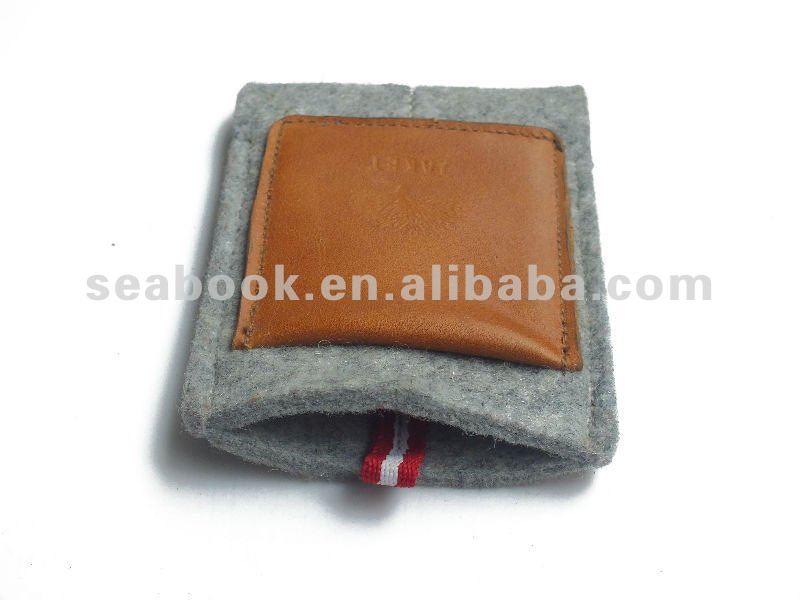 Velvet phone pouch for women