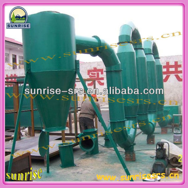 SUNRISE wood sawdust dryer/ wood sawdust dryer machine/ wood sawdust drying machine