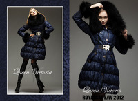 Женские пуховики, Куртки DHL! Women/Ladies' high grade fashion skinny! down&parkas outwear, winter warm, Generous and elegant! U13078