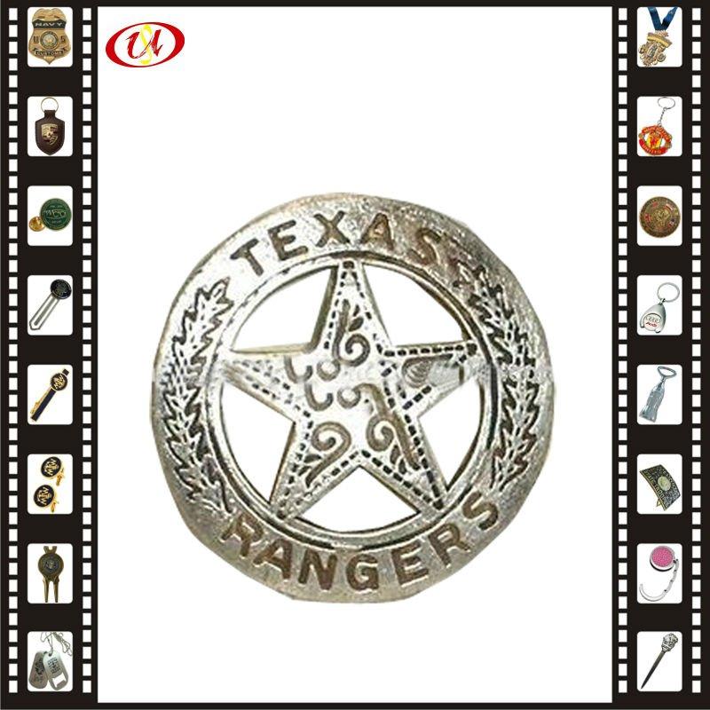 3D souvenir wings metal badge