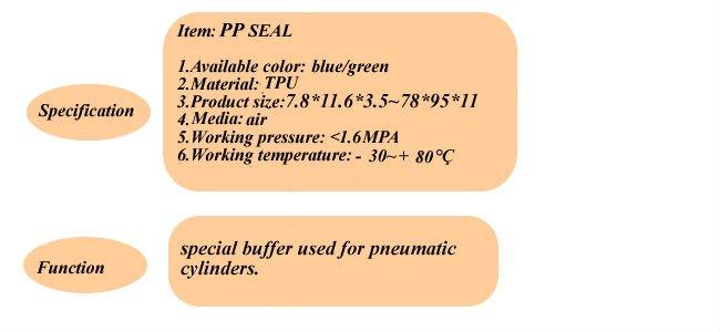 polyurethane seal