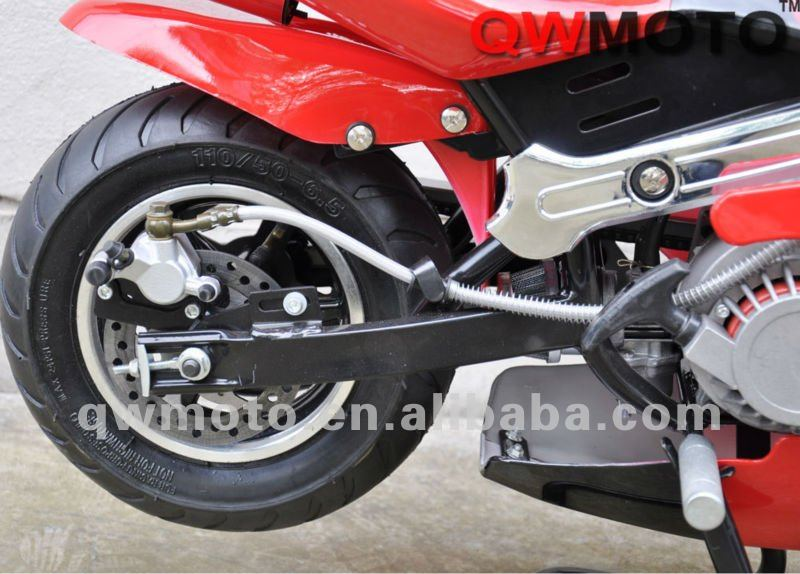49cc mini pocket bike with easy pull start engine