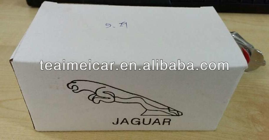 Jaguar front hood bonnet standing emblem badge logo