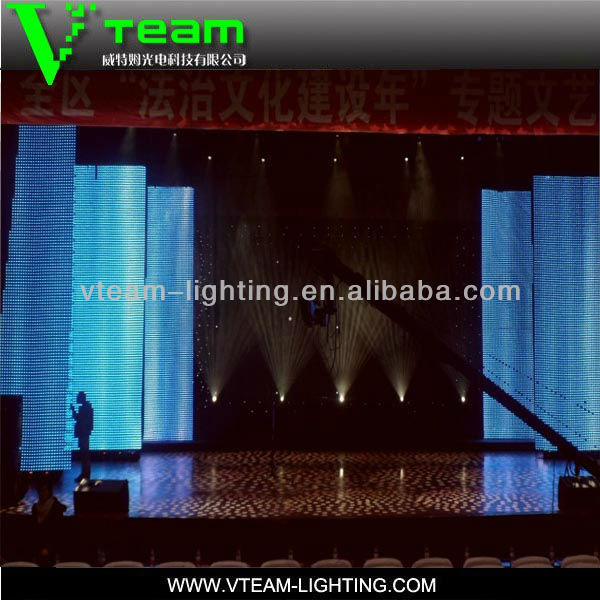 Shenzhen xxx music photos led curtain display