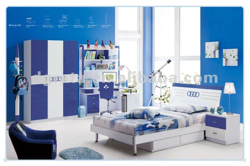 2012 nuevo diseño baratos muebles de los niños se hace de mdfboard e1 y del m...