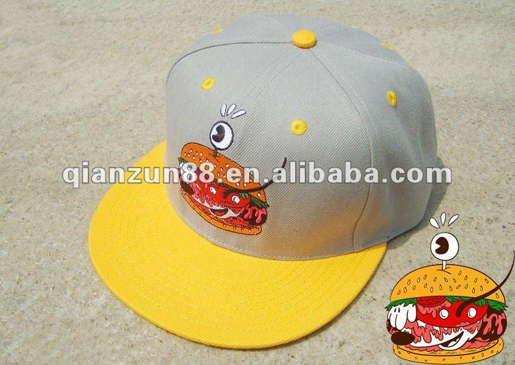 Trendy custom flat snapback baseball hats oem