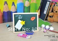 Классная доска dry eraser writing board/magnetic blackboard/Wood frame magnetic black board/10PCS/CTN kids chalkboard