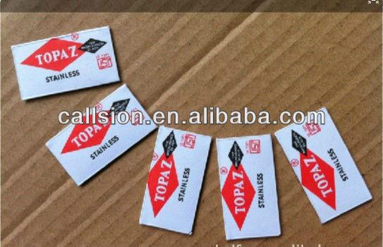 Famous brands of Topaz razor blade