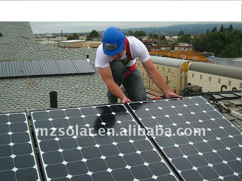 90W Solar Panel high-effeciency with CE,ROSH, TUV, UL, ISO9001