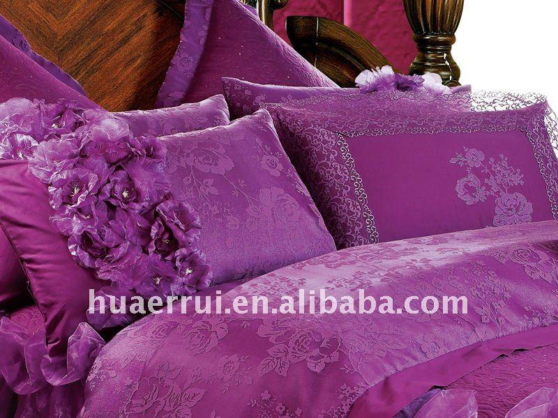 chinese wedding bedding set/bed linen /bed sheet