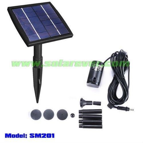 enfeites de jardim solar : enfeites de jardim solar:Solar Bomba Da Fonte (SM201)-Outros enfeites e adornos de água para