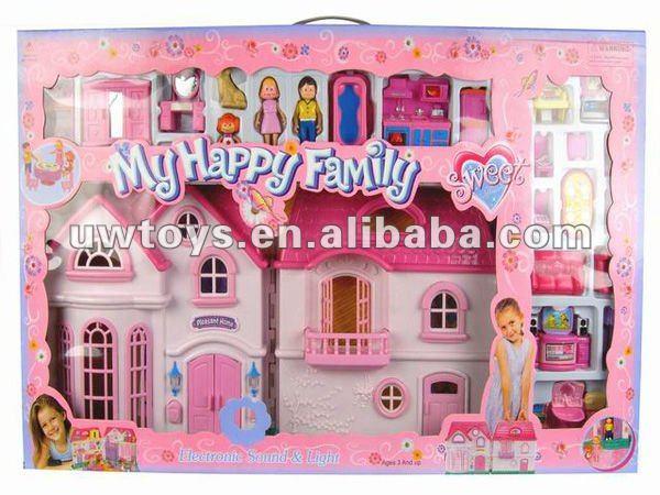 niños de plástico muebles de casa de muñecas para la ventaMuebles