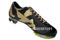 Мужские бутсы Real Madrid Away Club soccer shoes Assassin 7 TPU black gold football shoes