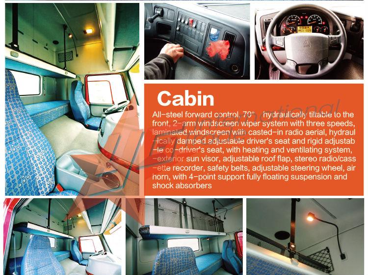 SINOTRUCK 6X4 howo tippers 3 wheel van