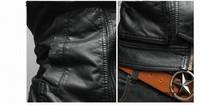 Мужские изделия из кожи и замши AOBA jaqueta slim fit PY0009