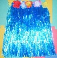 6coloravaiable/hawaii grass beach skirt L60cm/hawaii flower leis/hawaiian wreath/Welcome etiquette hawaiian garland/luau flowers