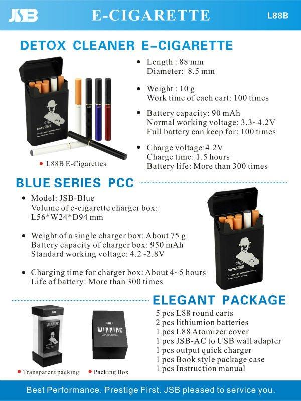 Healthy green smoking JSB-L88B new e cig