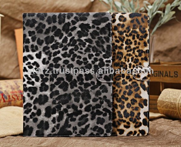 Leopard Leather Cover For ipad Air / ipad 5