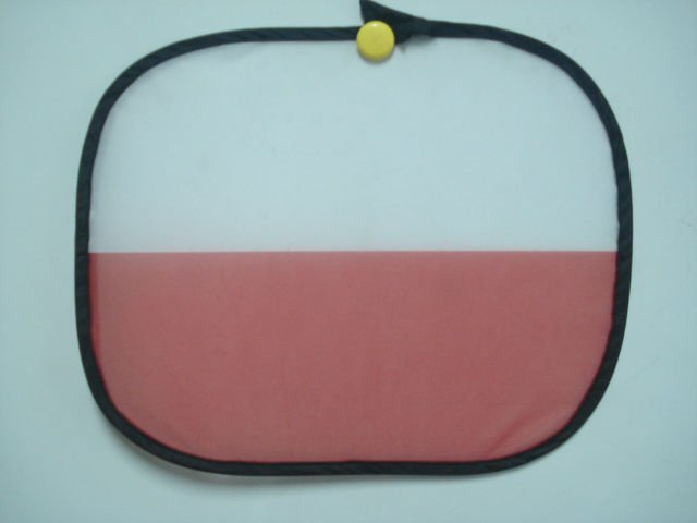 Promotional Production for Supporting Countries National Flag Custom Printed Car Sun Shade