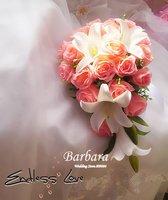 Свадебные букеты Барбара ds013