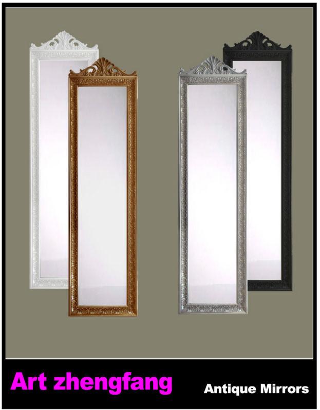 Dressing miroir pleine longueur miroir en bois cadre for Miroir longueur