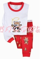 Пижамы и Халаты для мальчиков BB8412 boys girls pajamas sleepwear suits kids clothing set Underwears more colour fit 1-6yrs 6set/lot